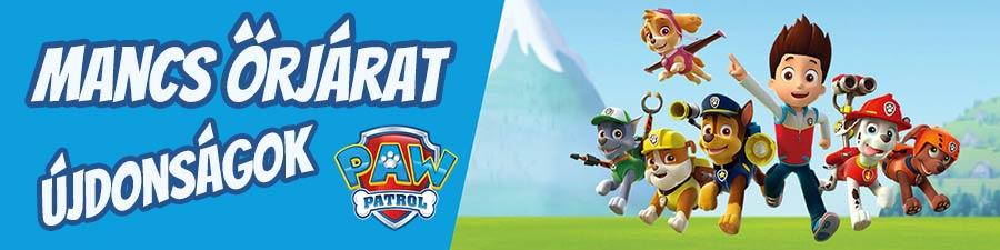 Mancs őrjárat (Paw Patrol) játékaink