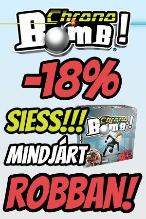 Chrono Bomb - Mentsd meg a világot! társasjáték AKCIÓ!