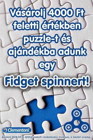 Puzzle és spinner akció