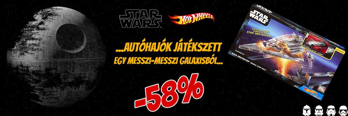Hot Wheels Star Wars Autóhajók Játékszett