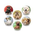 Kutyusok gumilabda 6cm többféle változatban - Mondo Toys