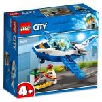 LEGO City: Légi rendőrségi járőröző repülőgép 60206