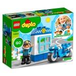 LEGO DUPLO: Rendőrségi motor 10900