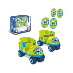 Toy Story 4: négykerekű görkorcsolya védőfelszereléssel 22-29 - Mondo Toys