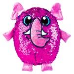 Shimmeez: Simiflitter: elefánt figura - 20 cm, pink - kék