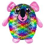 Shimmeez: Simiflitter: koala figura - 20 cm, szivárvány