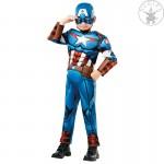Amerika Kapitány deluxe párnázott jelmez L-es