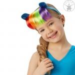 Én kicsi pónim: Rainbow Dash fejpánt hajjal és fülekkel