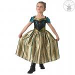 Jégvarázs Anna koronázási ruhája jelmez 3-4 éveseknek - Rubies