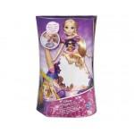 Disney hercegnők: Aranyhaj meseszoknyás játékfigura