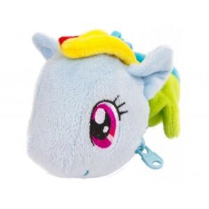 Én kicsi pónim plüss pénztárca - kulcstartó, Rainbow Dash