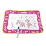 Rajzszőnyeg pink - aqua doodle