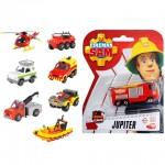 Sam a tűzoltó jármű 8 változatban - Dickie Toys