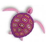 Zuru robo teknős - rózsaszín