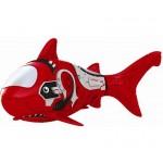 Zuru piros robot cápa hal
