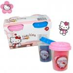 Hello Kitty 2 darabos gyurmakészlet