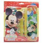 Mickey rajzkészlet és tolltartó