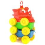 Műanyag játékvonat D-Toys