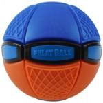 Phlat Ball: színváltós labda - lila, narancs