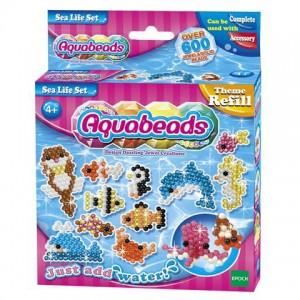 Aqua Beads tematikus utántöltő óceán