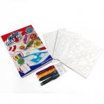 ColorMazing - Kalózok és űrhajók színező szett