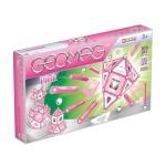 Geomag pink, lányos 104 db-os készlet