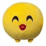 Imoji csókot dobó plüsslabda 11 cm