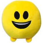 Imoji mosolygós plüsslabda 11 cm