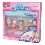 Shopkins Happy Places - Dreamy Bear Köszöntő szett