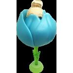 Flower Surprise - Meglepi virágbaba - kék tulipán
