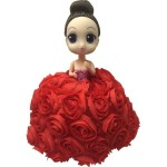 Flower Surprise - Meglepi virágbaba - piros rózsa