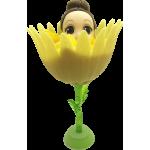 Flower Surprise - Meglepi virágbaba - sárga krizantém