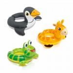Állatfejes úszógumi - Intex