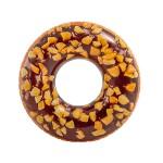 Intex Felfújható csokis-mogyorós fánk úszógumi - 114 cm