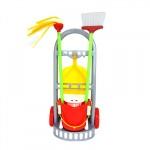 Játék takarítókocsi 43 cm