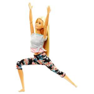 Barbie Mozgásra Tervezve: szőke hajú jóga Barbie