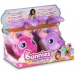 Mágneses Bunnies Fantázia nyuszik 2 darabos - pink, lila