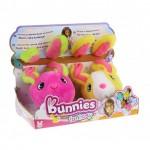 Mágneses Bunnies Fantázia nyuszik 2 darabos - pink, sárga