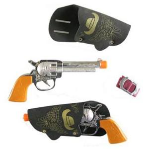 Cowboy pisztoly tokban