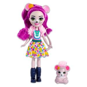 EnchanTimals: Mayla Mouse figura - Mattel