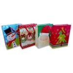 Karácsonyi dísztasak - 32 x 26 x 10 cm