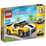 LEGO CREATOR: Sárga gyorsasági autó 31046