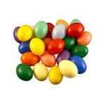 Műanyag tojás 6 cm - 10 darabos készlet