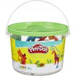 Play-Doh: állatok vödrös gyurmakészlet