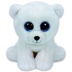 TY Beanie Babies: Arctic kölyök jegesmedve plüssfigura - 15 cm