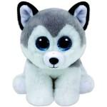 TY Beanie Babies: Buff husky kölyök kutya plüssfigura - 15 cm