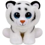 TY Beanie Babies: Tundra fehér kölyök tigris plüssfigura - 24 cm