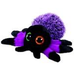 TY Beanie Boos: Creeper pók plüssfigura - 15 cm, lila