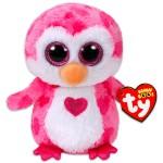 TY Beanie Boos: Juliet pingvin plüssfigura - 15 cm