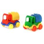 Wader: Kid Cars tartályos teherautó fiús színekben